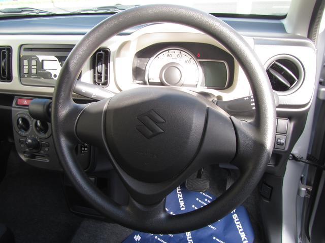 ハンドル部分の画像です。車種によってはステアリングオーディオスイッチがついている車両もあります。