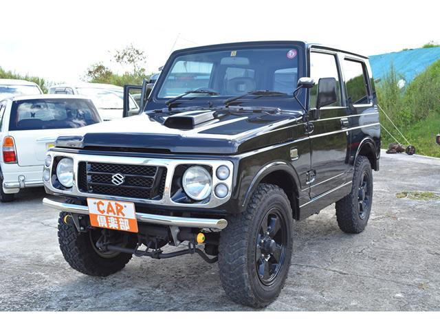 ワイルドウインド ブラックに色替え・社外F/Rバンパー・本土中古車(2枚目)