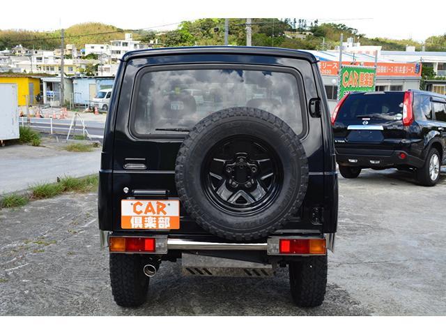 ワイルドウインド ブラックに色替え・社外F/Rバンパー・本土中古車(6枚目)