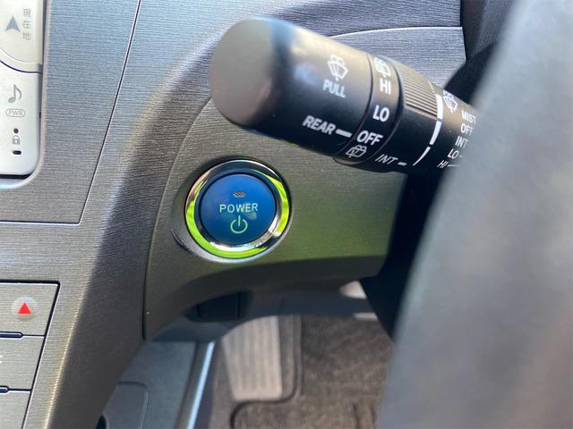 押せばエンジン始動!プッシュスタートです☆キーをポケットなどに入れててもエンジンがつけられるのでとっても便利♪ポチッとエンジンをかけて週末はドライブにでかけましょー♪