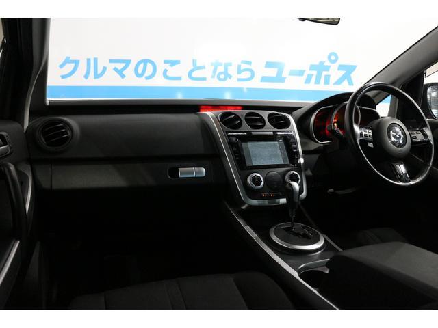 マツダ CX-7 5年保証対象車 ベースグレード フル装備 純正HDDナビ