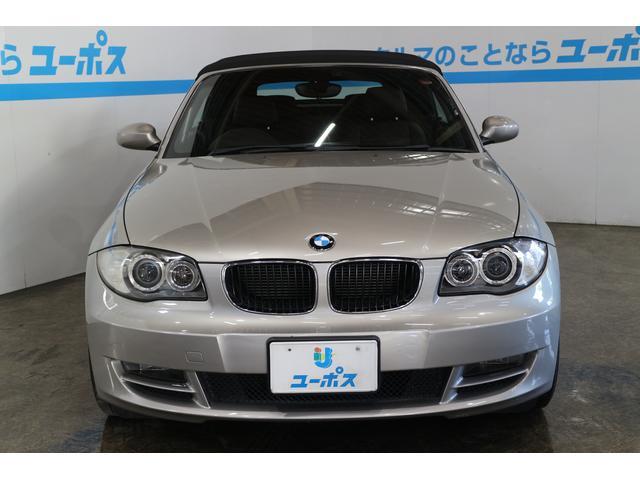 BMW BMW 120i カブリオレ フル装備 本革シート ヒーター付