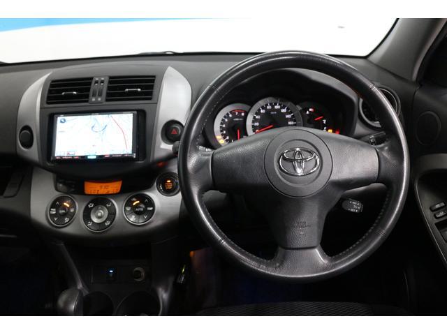 トヨタ RAV4 G イクリプスHDDナビ 純正17インチAW ルーフレール