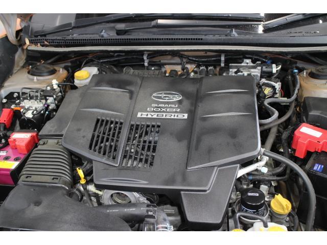 水平対向4気筒DOHC16バルブ+モーター 最高出力150ps(110kW)/6000rpm最大トルク20.0kg・m(196N・m)/4200rpm