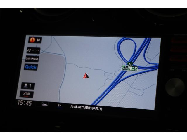 CD/AUX/フルセグTV機能付き純正ナビ