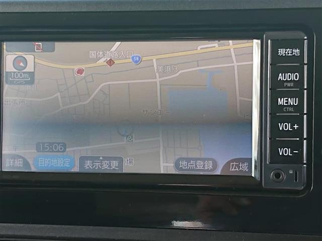 X S ワンセグ メモリーナビ バックカメラ 衝突被害軽減システム ETC 記録簿(5枚目)