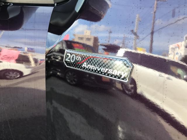 20周年記念車!!