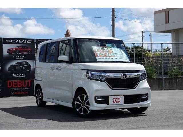ホンダ N BOXカスタム G・EXホンダセンシング デモカーアップ車