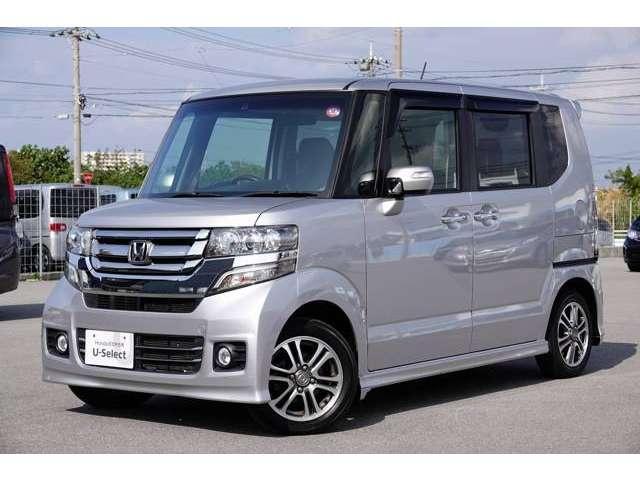 「ホンダ」「N-BOX+カスタム」「コンパクトカー」「沖縄県」の中古車7