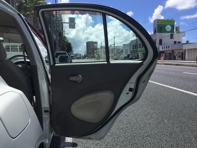 「日産」「マーチ」「コンパクトカー」「沖縄県」の中古車22