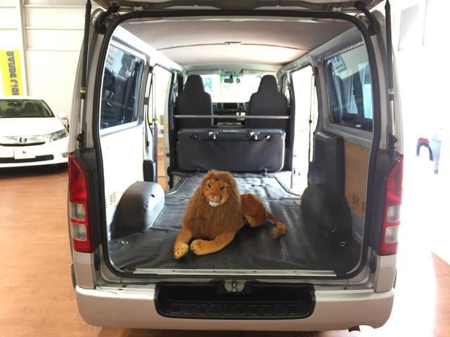 105cmのライオンも楽々はいります♪
