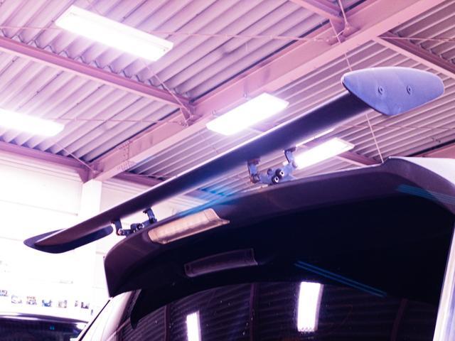 S ガルウィング 社外フルエアロ 引っ張り出しタイヤ フェンダー耳折り加工 デイライト 社外アルミホイール RECAROセミバケシート Bluetoothオーディオ(7枚目)