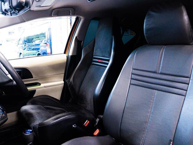 S ガルウィング 社外フルエアロ 引っ張り出しタイヤ フェンダー耳折り加工 デイライト 社外アルミホイール RECAROセミバケシート Bluetoothオーディオ(13枚目)