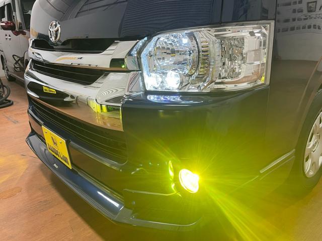 SロングワイドDX GLパッケージ モデリスタエアロ RECAROバケットシート ダークプライムセカンドシートVELENO・LED 純正LEDヘッドライト フルセグ クリアランスソナー AC100  両側スライドガラス(9枚目)