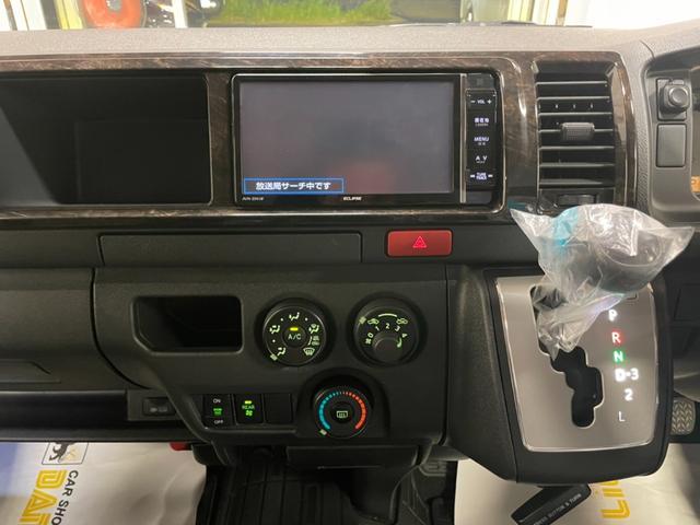SロングワイドDX GLパッケージ モデリスタエアロ RECAROバケットシート ダークプライムセカンドシートVELENO・LED 純正LEDヘッドライト フルセグ クリアランスソナー AC100  両側スライドガラス(13枚目)