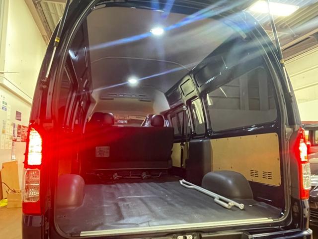 SロングワイドDX GLパッケージ モデリスタエアロ RECAROバケットシート ダークプライムセカンドシートVELENO・LED 純正LEDヘッドライト フルセグ クリアランスソナー AC100  両側スライドガラス(20枚目)
