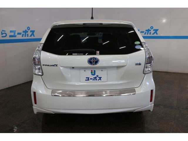 トヨタ プリウスアルファ Gツーリングセレクション OP5年保証対象車両 純正ナビ