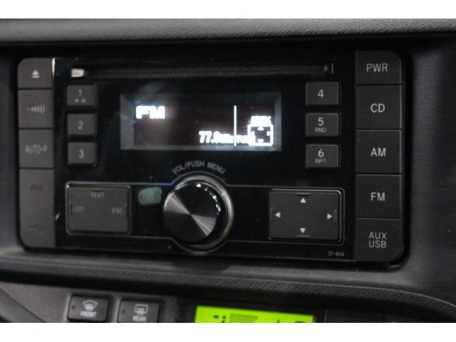 トヨタ アクア G TRDエアロ OP10年保証対象 15インチAW レンタ