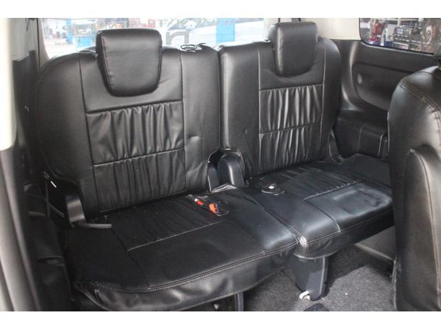 サードシートも広々快適!