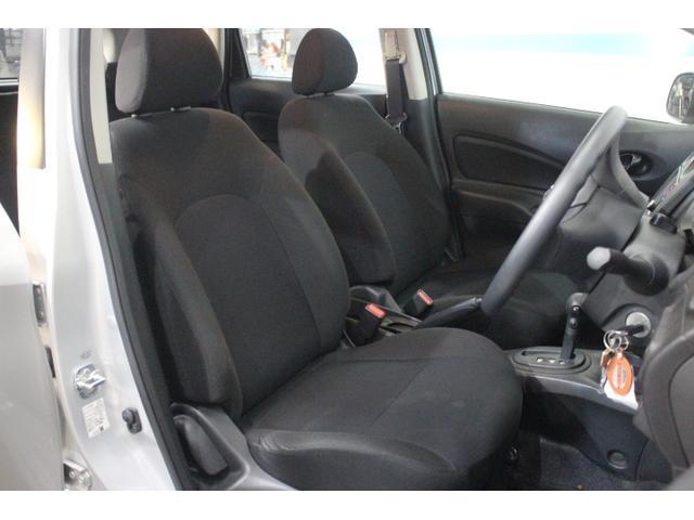 ホールド性と快適性を備えたフロントシート!