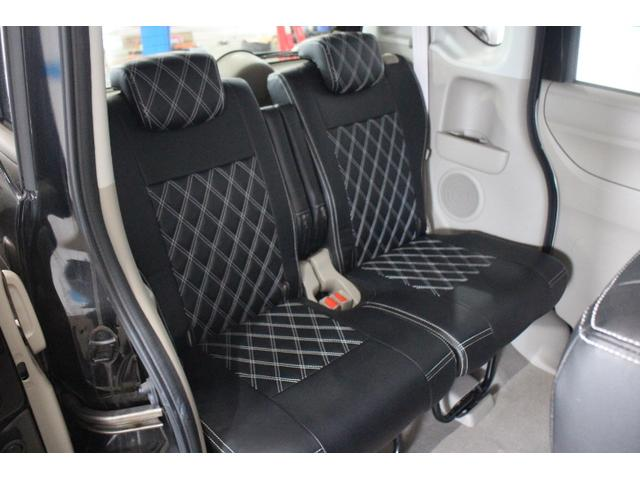 後席の前後スライドによって乗員空間とラゲッジスペースの広さの使い分けが一般的だったが、N BOXでは1150mmのタンデムディスタンスが可能。
