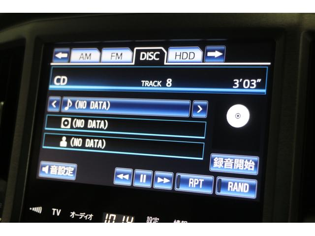 CD/DVD/USB/MSV/フルセグTV機能付き純正HDDナビ