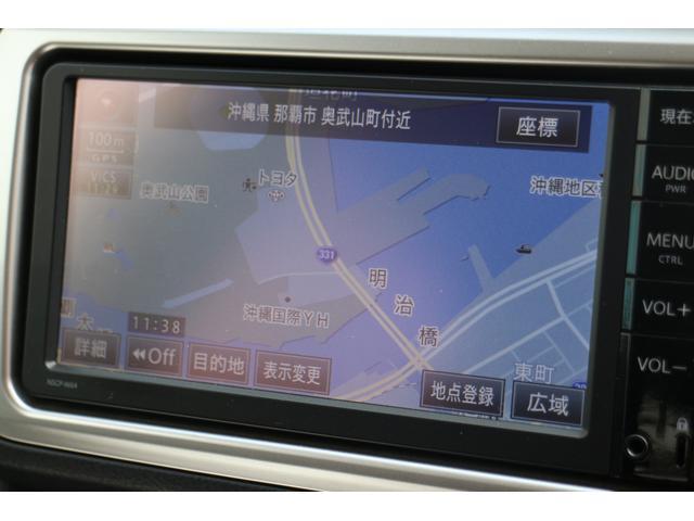CD/AUX/ワンセグTV機能付き純正ナビ