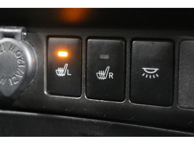 寒い日は腰から暖か、シートヒーター機能付き
