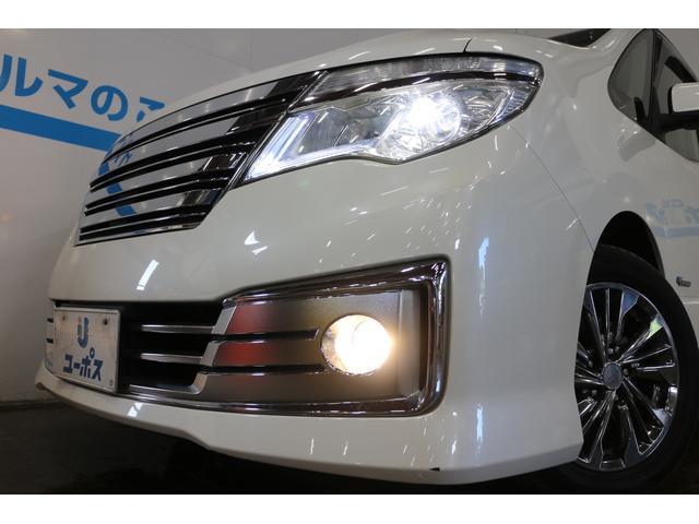 明るい視界を確保する、LEDオートヘッドライト/フロントフォグランプ