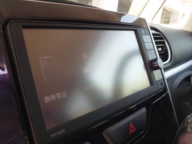 カスタムRS トップエディションSAII OP10年保証対象車 両側パワースライドドア 純正ナビ ハーフレザーシート コーナーセンサー(14枚目)
