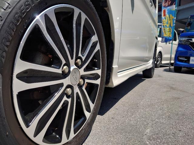 カスタムRS トップエディションSAII OP10年保証対象車 両側パワースライドドア 純正ナビ ハーフレザーシート コーナーセンサー(18枚目)
