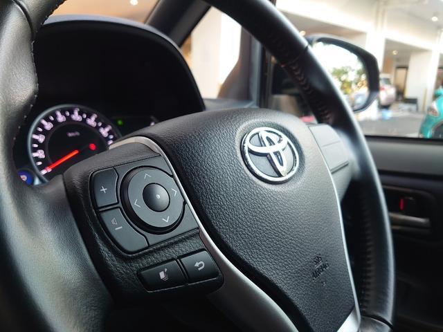 運転中でも視線は安全性を保ったままオーディオ操作可能なステアリングリモコン。