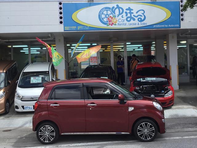 「ダイハツ」「キャスト」「コンパクトカー」「沖縄県」の中古車4