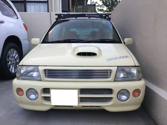 「スズキ」「セルボモード」「軽自動車」「沖縄県」の中古車4