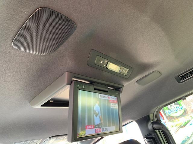 ルーフスピーカー・12インチ純正フリップダウンモニター・デジタルオートエアコン(前席エアコン操作可能(^^♪