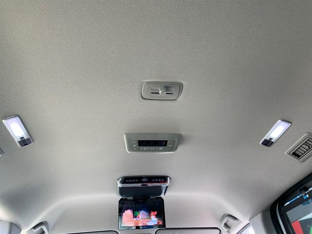 後席4灯LEDランプセンター調光ボリュウーム機・後席用エアコンスイッチ
