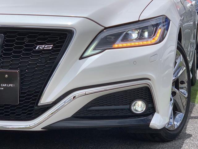 RS専用ブラックメッシュグリル・メッキモール付き・全方位クリアランスソナー・障害物検知緊急ブレーキ