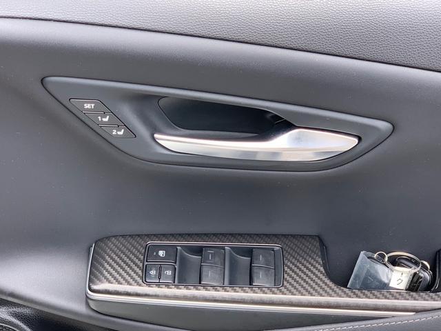 RSアドバンス専用メモリー機能付きシートポジション・サイドミラー・ステアリング