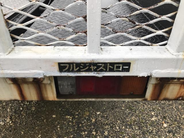 積載車 フルジャストロー 2t(12枚目)