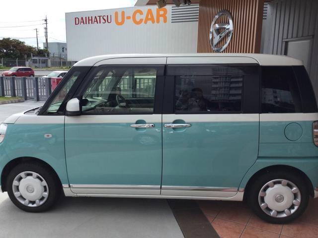 「ダイハツ」「ムーヴキャンバス」「コンパクトカー」「沖縄県」の中古車5