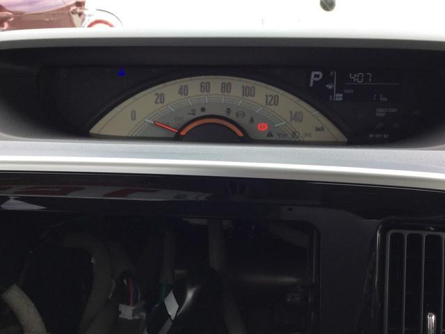 シンプルで大きく見やすいスピードメーター!