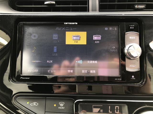S プッシュスタートスマートキーアイドリングストップ衝突軽減ブレーキ・衝突安全ボディウィンカーミラーナビDVD・USB/AUX入力端子ETC(5枚目)