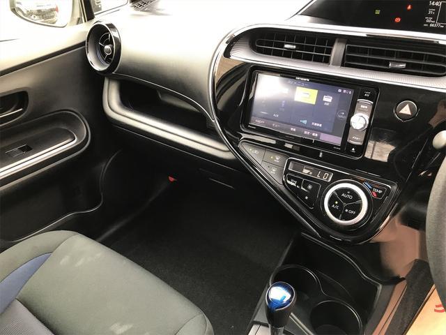 S プッシュスタートスマートキーアイドリングストップ衝突軽減ブレーキ・衝突安全ボディウィンカーミラーナビDVD・USB/AUX入力端子ETC(13枚目)