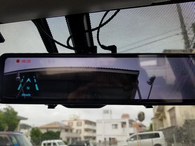 Gツーリングセレクションレザーパッケージ 社外ドライブレコーダー 純正17アルミ バックカメラ Bluetooth ハーフレザー 新品タイヤ 駆動用バッテリー交換済(17枚目)