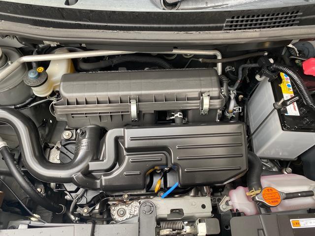 カスタム X 後期モデル スマートキー オートエアコン アイドリングストップ機能 社外アルミ 本土無事故車両(32枚目)