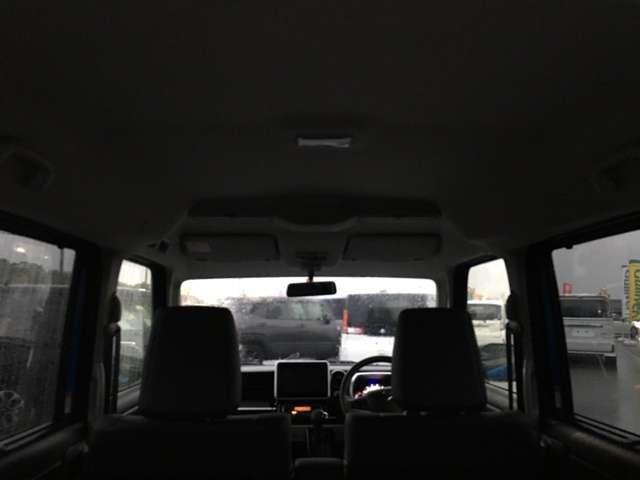 ハイブリッドXSターボ 内地仕入 両側パワースライドドア LEDヘッドライト スマートキー ステアリングスイッチ(9枚目)