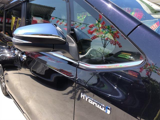 ハイブリッドGi モデリスタエアロ スタイリングパッケージ デイライト付き 両側パワースライドドア 置くだけ充電 シートヒーター・エアコン 革シート ホイール新品 本土仕入・無事故車 24ヵ月保証付き(8枚目)