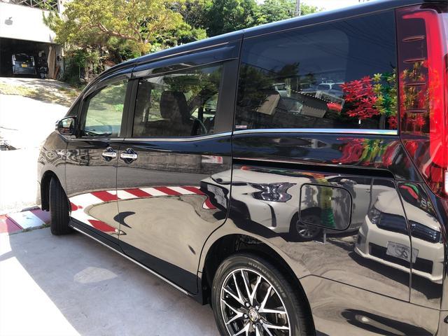 ハイブリッドGi モデリスタエアロ スタイリングパッケージ デイライト付き 両側パワースライドドア 置くだけ充電 シートヒーター・エアコン 革シート ホイール新品 本土仕入・無事故車 24ヵ月保証付き(17枚目)