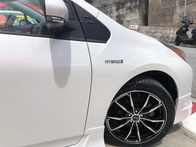 A 新品社外アルミホイール・フルエアロ ヘッドアップディスプレイ デイライト トヨタセーフティセンス パークアシスト 本土仕入・無事故車 24ヵ月保証付き(10枚目)