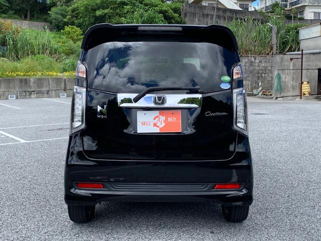 Custom G・特別仕様車・SSクールパッケージ ハーフレザーシート DVD バックカメラ HID クルーズコントロール プラズマクラスターエアコン オートリトラミラー(4枚目)